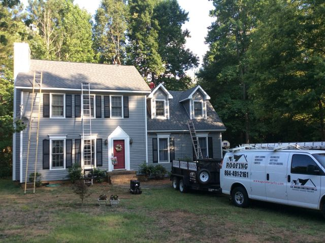 Roofing Installation Greenville, SC