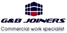 G&B JOINERS logo