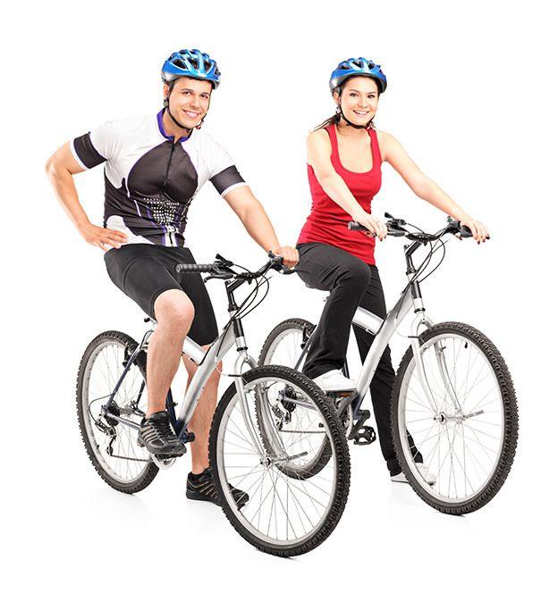Cyclists in Whakamaru