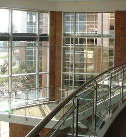 glass balcony installation