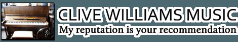 CLIVE WILLIAMS MUSIC Company Logo