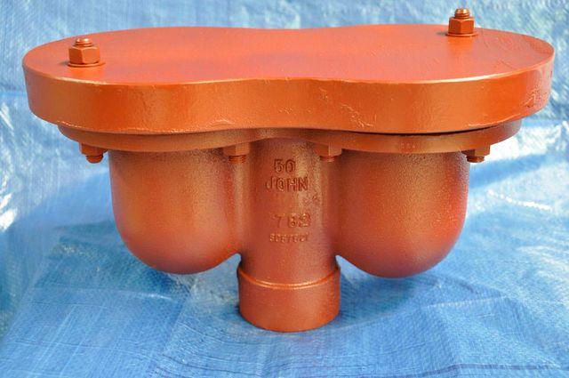 orange pipe valve