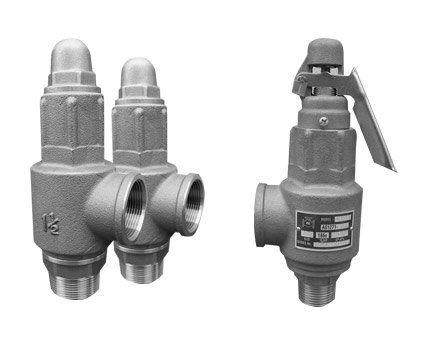 silver safety valves