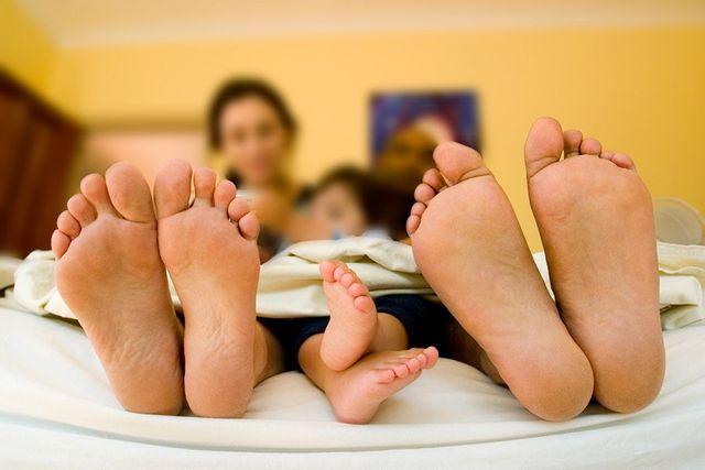 family of feet
