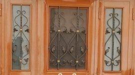 decorazioni ferro porta