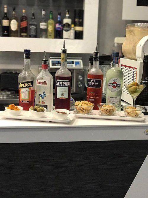 bottiglie per cocktails