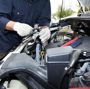 On-site vehicle maintenance and repairs