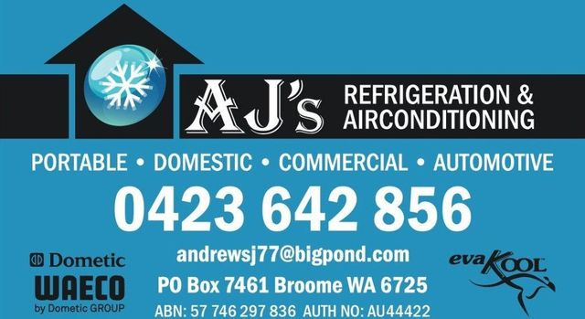 AJ's Refrigeration and Air Conditioning | Cooling Experts | Broome, WA
