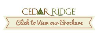 Cedar Ridge siding logo
