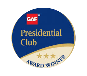 King Quality Construction is a member of the GAF President's Club