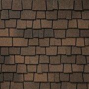 King Quality Construction installs Glenwood Adobe Clay shingles.
