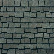 King Quality Construction installs Glenwood Chelsea Gray shingles.