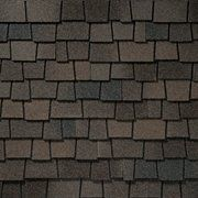 King Quality Construction installs Glenwood Dusky Gray shingles.