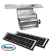 Master Flow Green Machine Solar-Powered EcoSmart Ridge Vent, installed by King Quality Construction