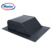 Master Flow Roof Louvers Attic Exhaust Vent, installed by King Quality Construction