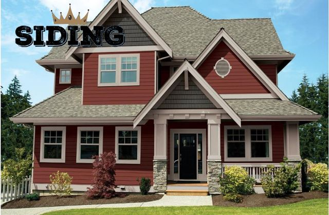 Siding installed by King Quality Construction