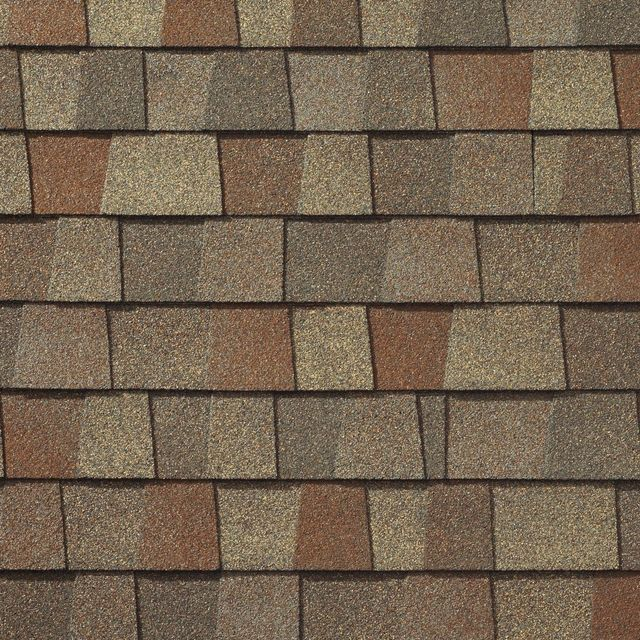King Quality Construction installs Timberline American Harvest Golden Harvest shingles
