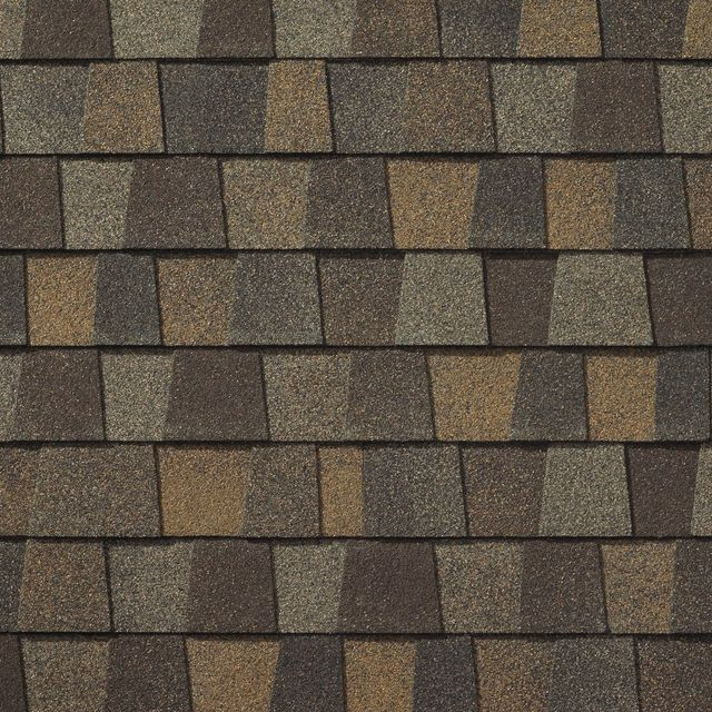 King Quality Construction installs Timberline American Harvest Saddlewood Ranch shingles