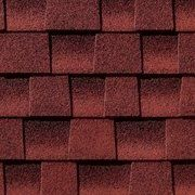 Timberline HD Patriot Red shingles installed by King Quality Construction