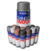 King Quality Construction uses GAF ShingleMatch Roof Accessory Paint