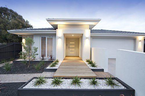 One storey house exterior design