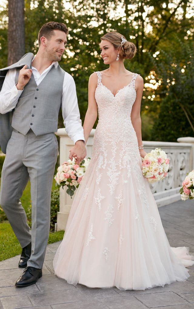 Stella York Lace Dress