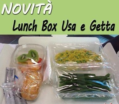 lunch box usa e getta
