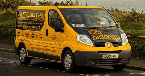 breakdown recovery mobile service van