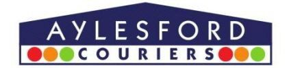 AYLESFORD COURIERS Company Logo