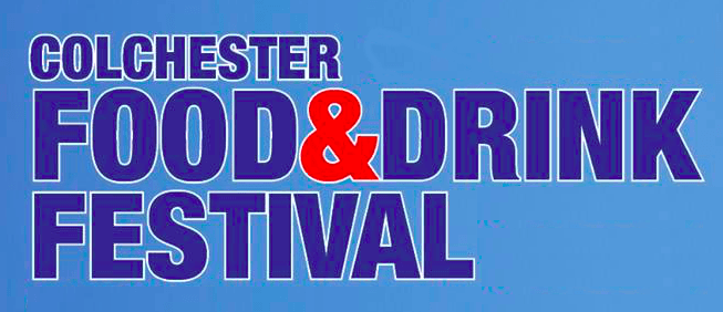 colchester festival food and drink logo