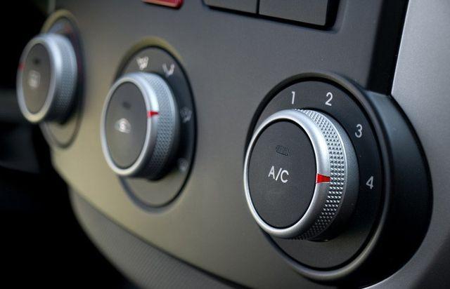 car interior buttons