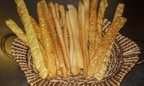 Grissini artigianali del Panificio Tubertini