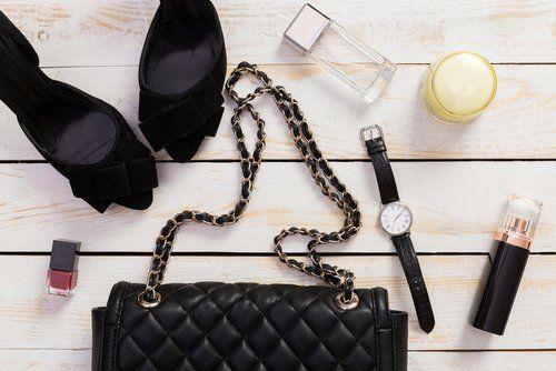 accessori pelletteria e borsa per serate eleganti