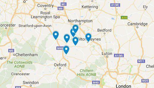 Graham Churchill Plant Ltd Google Map Location