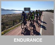 cyclist in Mallorca Spain endurance level rides