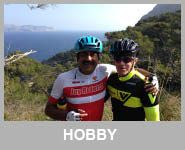 cyclist riding in Mallorca Spain hobby level rides