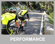 cyclist in Mallorca Spain performance level rides