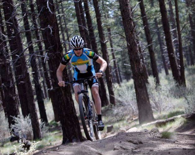cyclist Adam Bucklin pro mountain bike racer