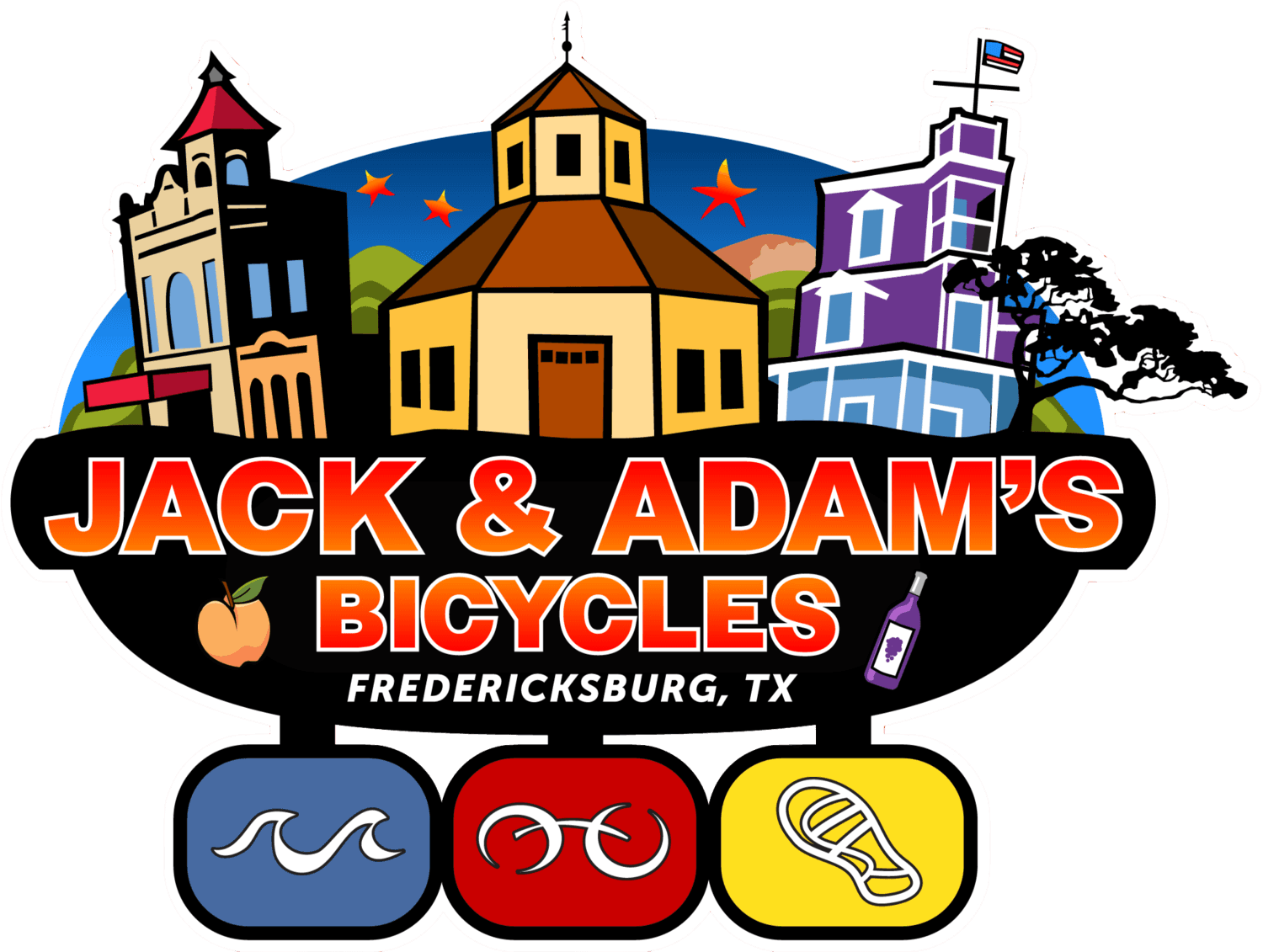Jack and Adam's Bicycles in Fredericksburg Texas
