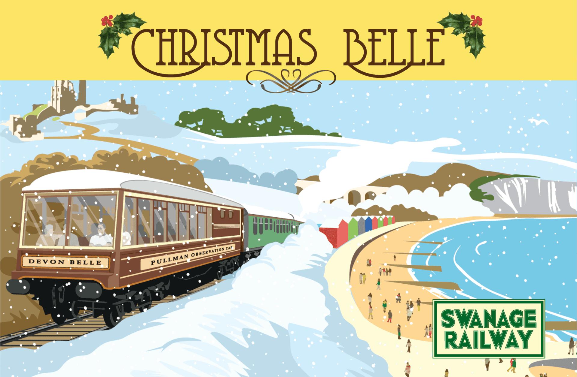 Swanage Railway Christmas Belle