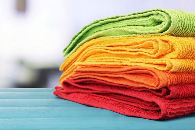 Fresh, clean towels