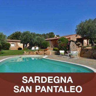 villetta indipendente con piscina in Sardegna a San Pantaleo