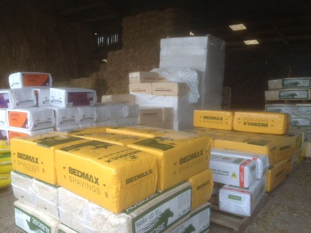 Horse bedding products
