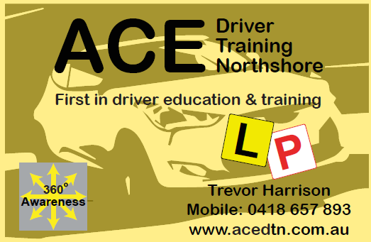 ACE Driver Training visiting card