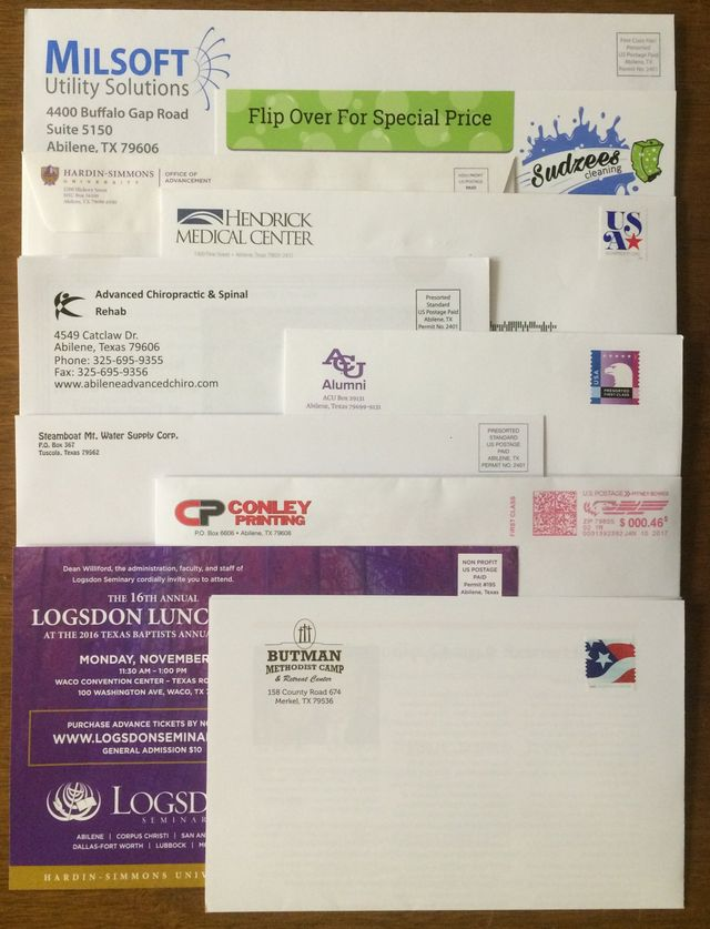Direct Mail Abilene, TX