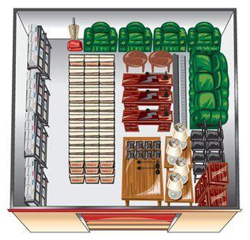 20x20 storage units