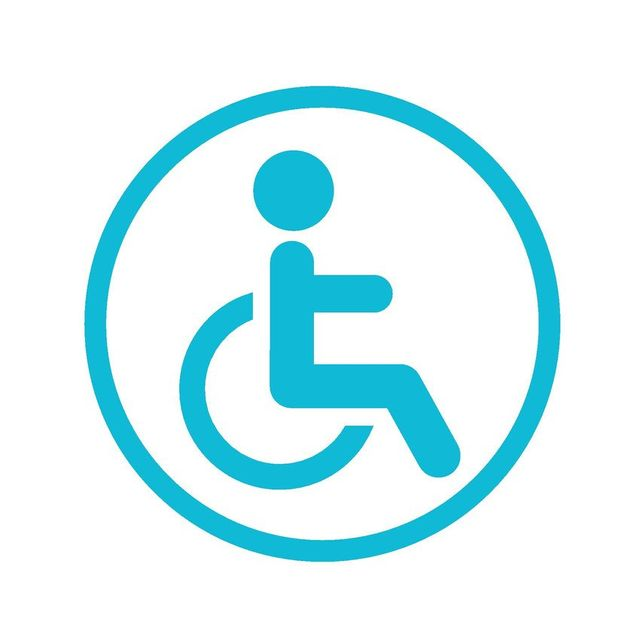 graphic of wheelchair
