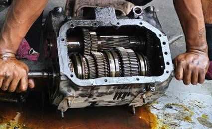 Gear box cleaning