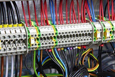 Centralina di cavi elettrici