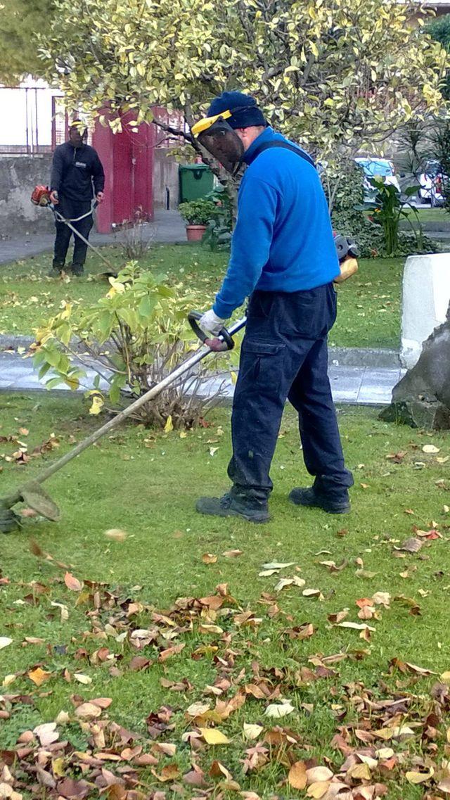 Lavori di giardinaggio ad Angri- La Soledad
